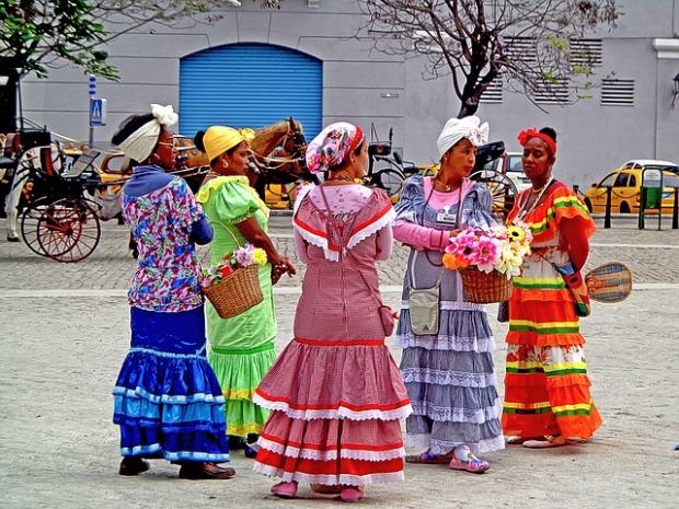 CUBA-flower-sellers-